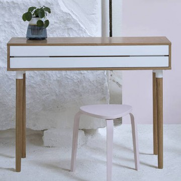 CO2 console table / writing desk - Le point D
