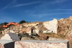 Carrière de marbre dans l'Heyrault