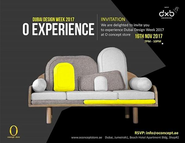 photo de couchino pour l'affiche de la Dubaï Design Week