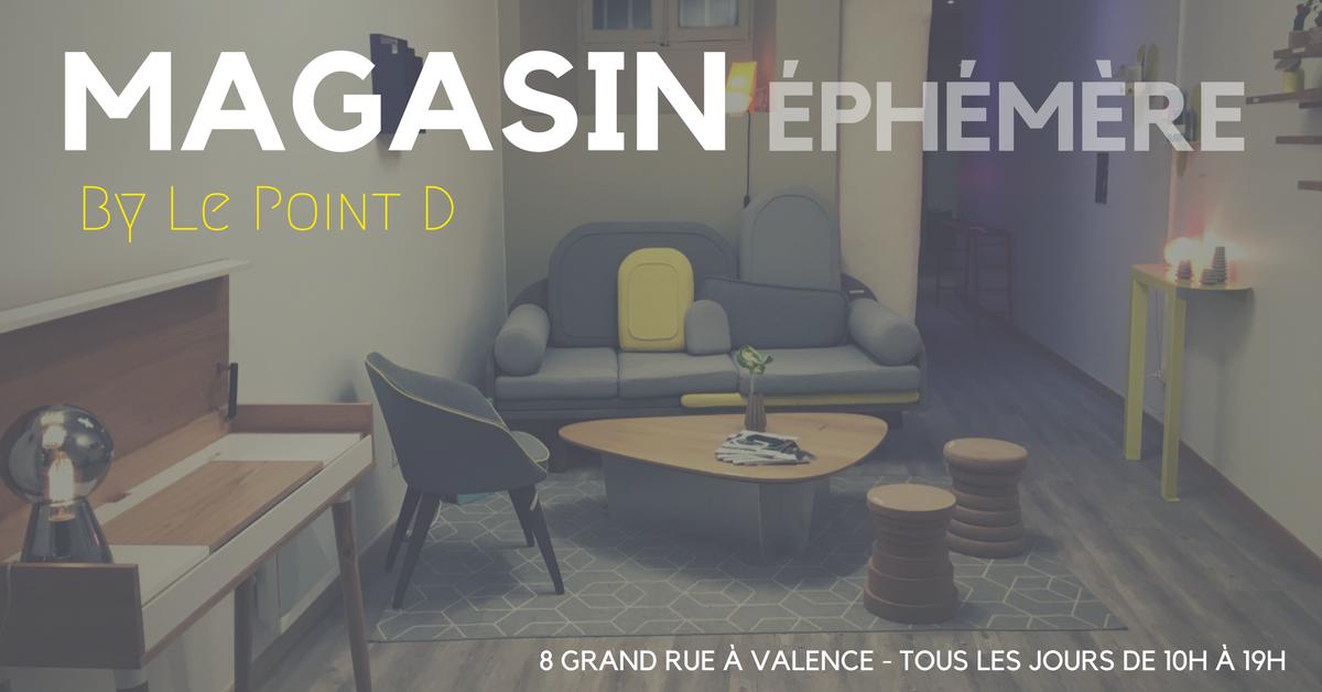 Magasin éphémère by Le Point D