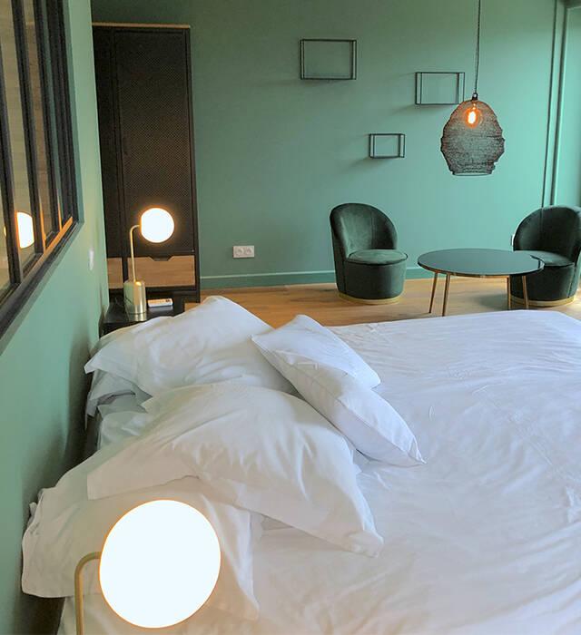 Aménagement déco hôtel 4* Le Manoir Du Roure