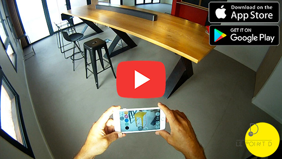 Augmented reality by Le point D : tutorial
