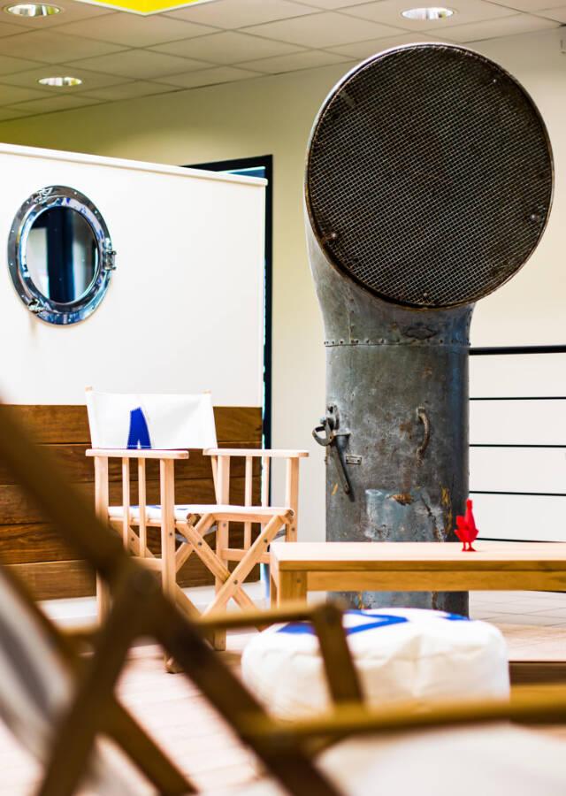 Aménagement déco, Ponant Technologies . Tertiaire - Office
