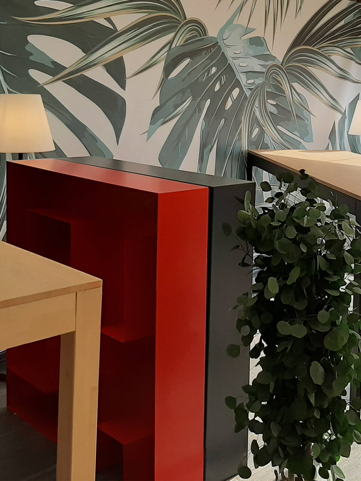 Agence de communication Starteo - un projet de décoration et d'agencement global par Le point D