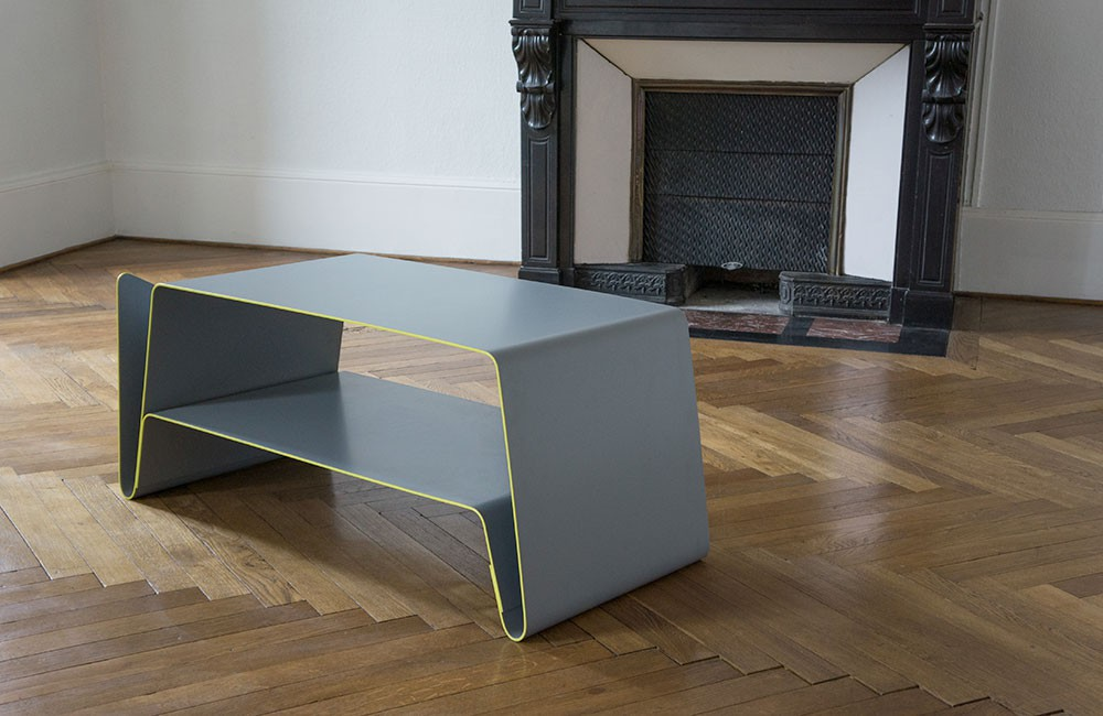 Table basse v aluminium personnalisable for Table basse personnalisable